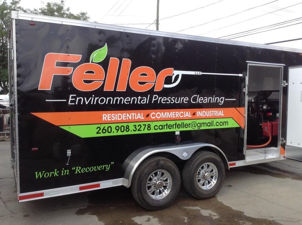 Enclosed Trailer Pressure Washer