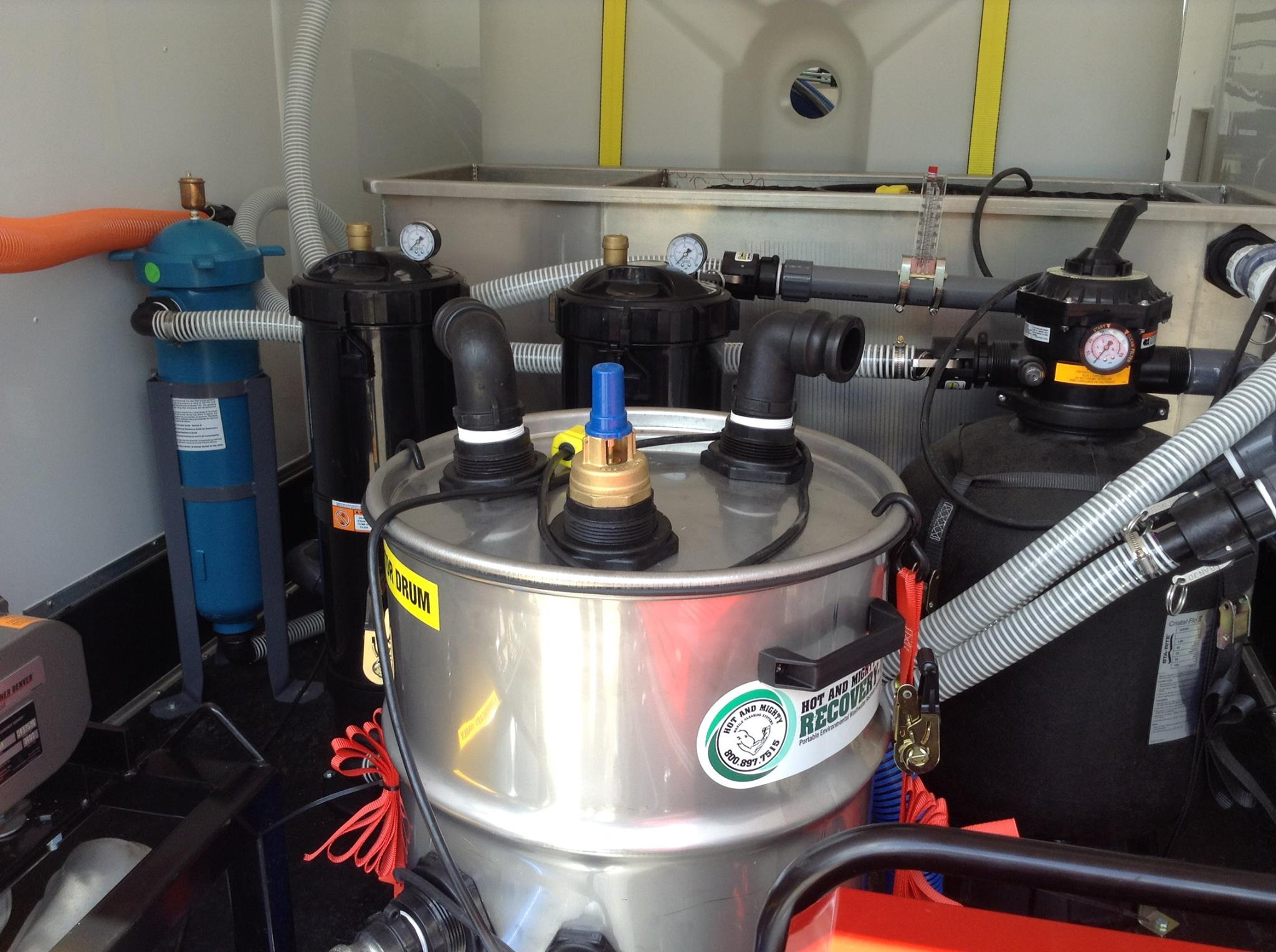 Pressure Washer Trailers Wash Water Vacuums And Recycling