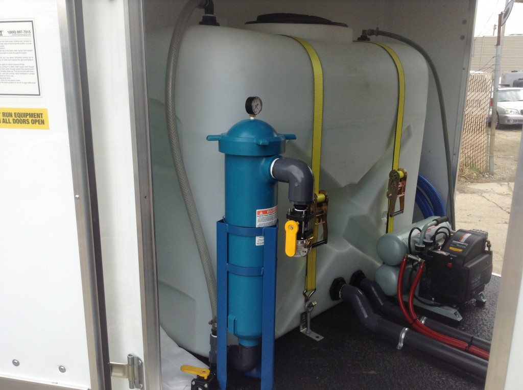 Hot And Mighty Pressure Washer Trailer